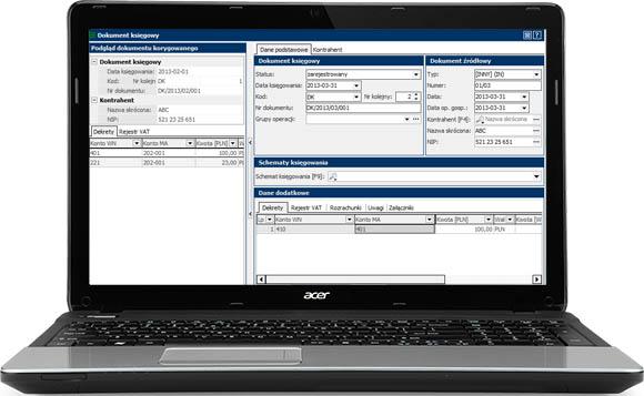 Laptop z system RAKSSQL