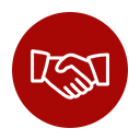 Ikona porozumienia z klientami